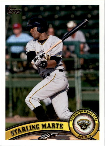 Photo of 2011 Topps Pro Debut #307 Starling Marte Pre-Rookie Card
