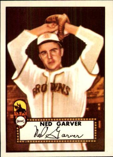 Photo of 1983 Topps 1952 Reprint #212 Ned Garver