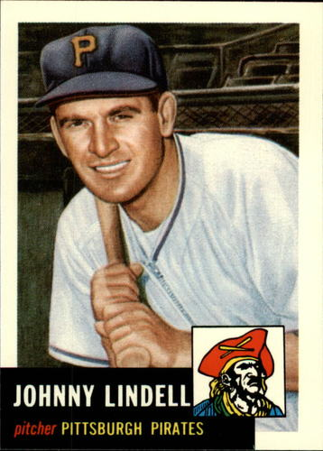 Photo of 1991 Topps Archives 1953 #230 Johnny Lindell