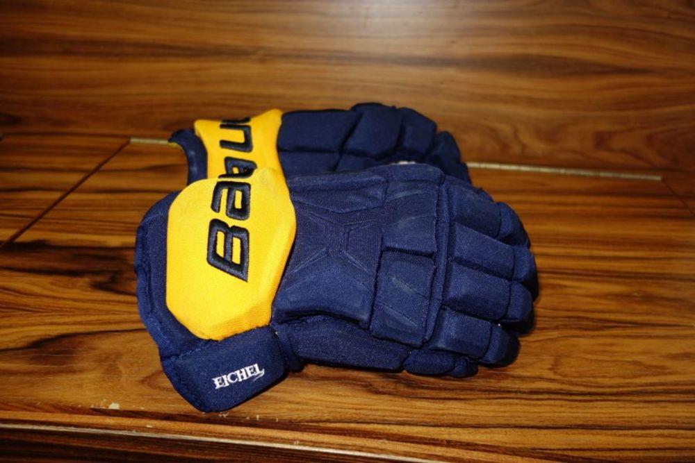 Jack Eichel Game Worn Gloves