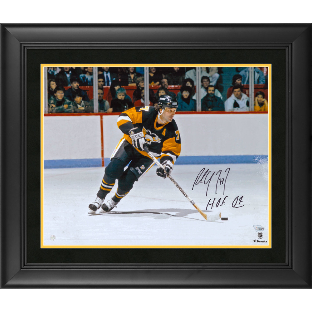 Paul Coffey Pittsburgh Penguins Framed Autographed 16