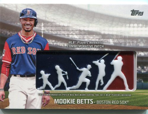 Photo of 2018 Topps Players Weekend Patches #PWPMB Mookie Betts