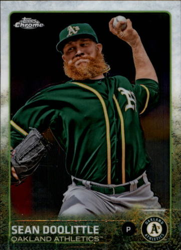 Photo of 2015 Topps Chrome #41 Sean Doolittle