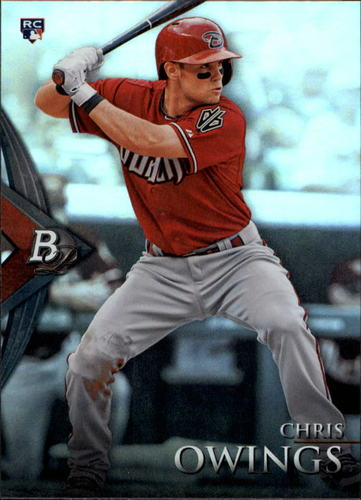 Photo of 2014 Bowman Platinum #90 Chris Owings RC