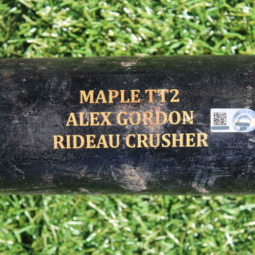 Game-Used Broken Bat: Alex Gordon 1,592nd Career Hit and 729th Career RBI (9/4/19 - DET @ KC)