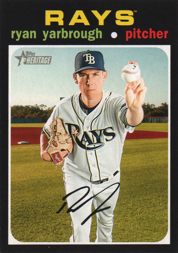 Photo of 2020 Topps Heritage #267 Ryan Yarbrough
