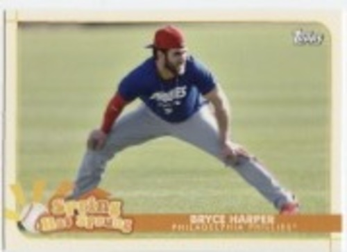 Photo of 2020 Topps Opening Day Spring Has Sprung #SHS14 Bryce Harper