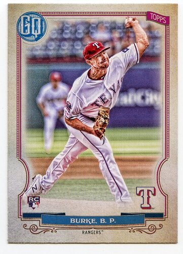 Photo of 2020 Topps Gypsy Queen #28 Brock Burke RC