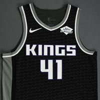 Tyler Lydon - Sacramento Kings - Game-Worn Statement Edition Jersey - NBA India Games - 2019-20 NBA Season