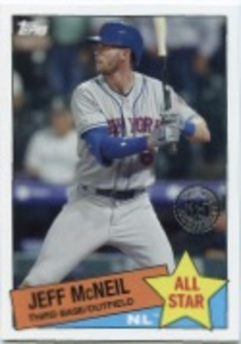 Photo of 2020 Topps '85 Topps All Stars #85AS45 Jeff McNeil
