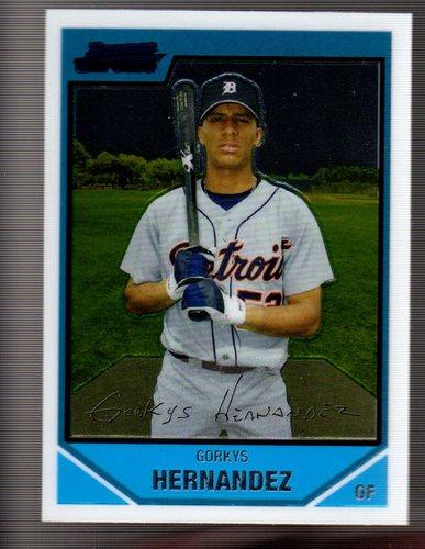 Photo of 2007 Bowman Chrome Prospects #BC190 Gorkys Hernandez
