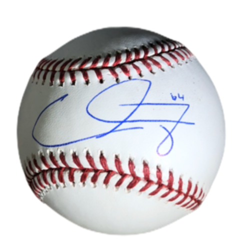 Photo of Caleb Ferguson Authentic Autographed Baseball