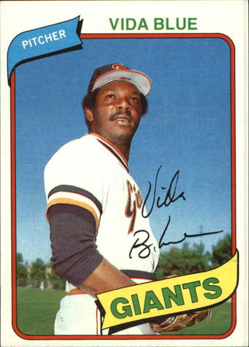 Photo of 1980 Topps #30 Vida Blue