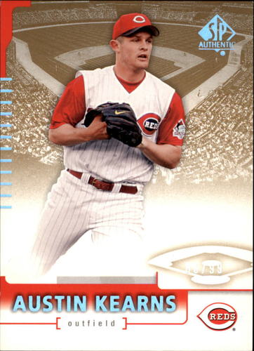 Photo of 2004 SP Authentic 199/99 #22 Austin Kearns