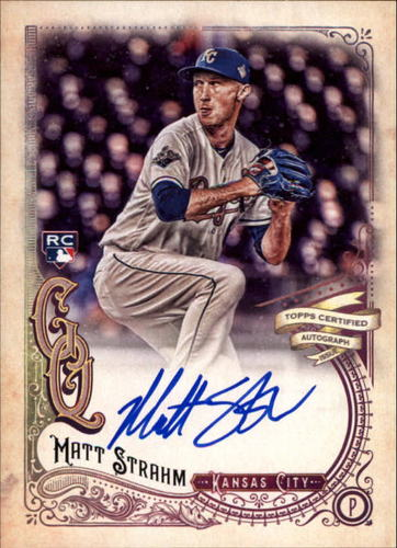 Photo of 2017 Topps Gypsy Queen Autographs #GQAMST Matt Strahm
