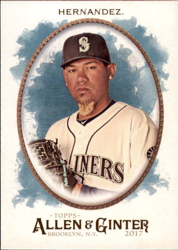 Photo of 2017 Topps Allen and Ginter #208 Felix Hernandez