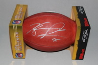 BILLS - KYLE WILLIAMS SIGNED AUTHENTIC FOOTBALL