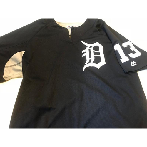 Photo of 2017 Team-Issued #13 Home Batting Practice Jersey