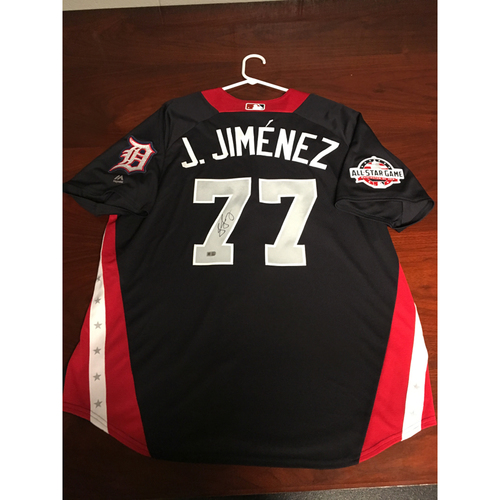 Photo of Joe Jimenez 2018 Major League Baseball Workout Day Autographed Jersey