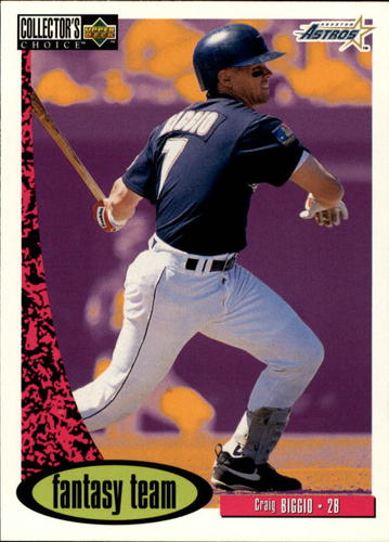 Photo of 1996 Collector's Choice #274 Craig Biggio FT