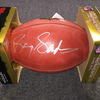 PCC - Lions Barry Sanders signed authentic football