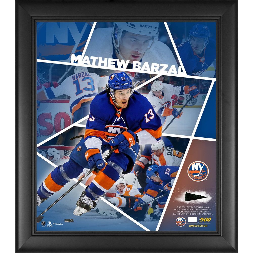 Mathew Barzal New York Islanders Framed 15