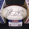 Bills - Nathaniel Peterman Signed Panel Ball