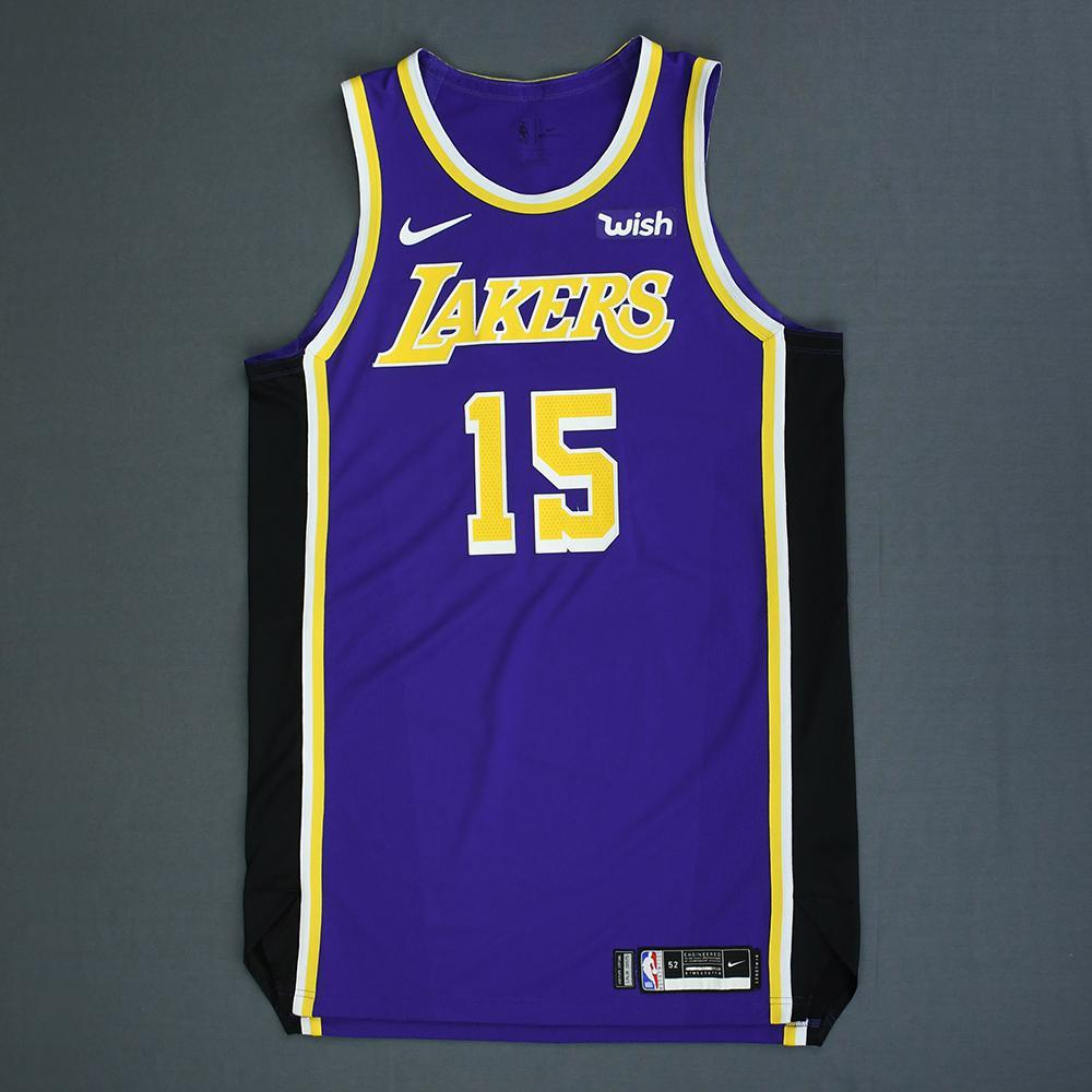 50d7becd8c70 Moritz Wagner - Los Angeles Lakers - Game-Worn Statement Edition Jersey -  2018-