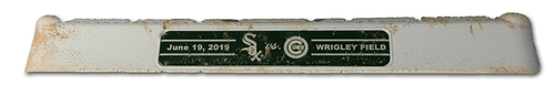 Photo of Game-Used 3rd Base -- Used in Innings 5 through 6 -- White Sox vs. Cubs -- 6/19/19