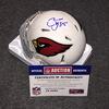 NFL - Cardinals Chandler Jones signed Cardinals mini helmet