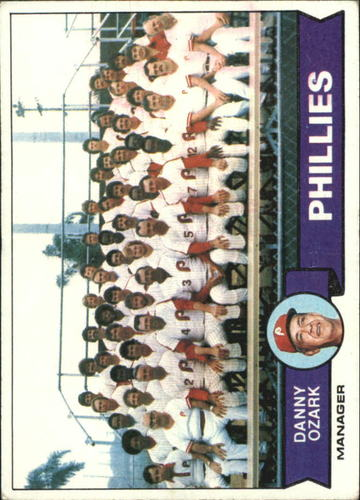 Photo of 1979 Topps #112 Philadelphia Phillies CL/Danny Ozark MG
