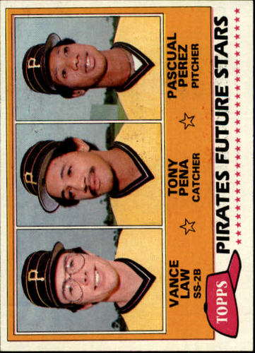 Photo of 1981 Topps #551 Vance Law RC/Tony Pena RC/Pascual Perez RC