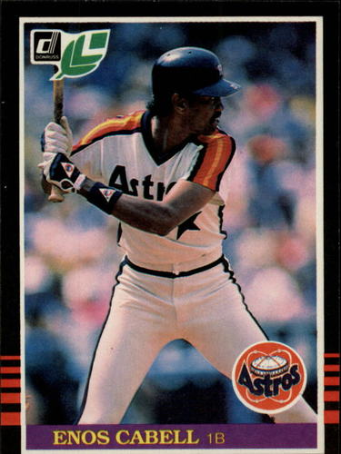 Photo of 1985 Leaf/Donruss #161 Enos Cabell