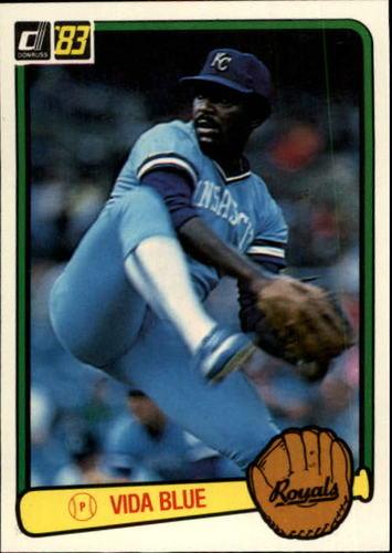 Photo of 1983 Donruss #34 Vida Blue