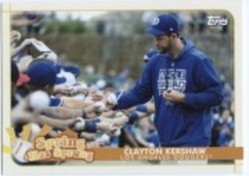 Photo of 2020 Topps Opening Day Spring Has Sprung #SHS18 Clayton Kershaw