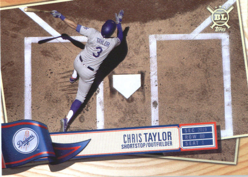 Photo of 2019 Topps Big League #179 Chris Taylor
