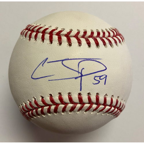 Photo of Chris Paddack Autographed Authentic Baseball