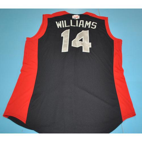 2019 Futures Game - Devin Williams Batting Practice Worn Jersey