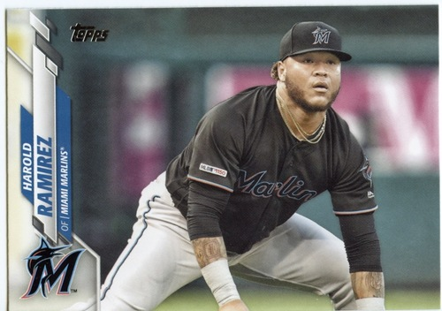 Photo of 2020 Topps #528 Harold Ramirez