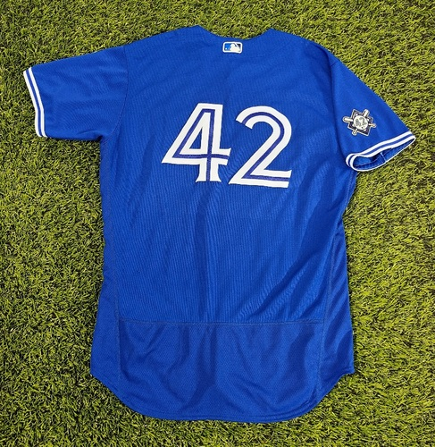 Photo of CHARITY AUCTION: Authenticated Team Issued #42 Jersey: Jacob Waguespack (2020 Season). Size 48.