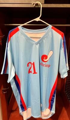Jacksonville Expos Fauxback Jersey #21 Cody Poteet  Size 46