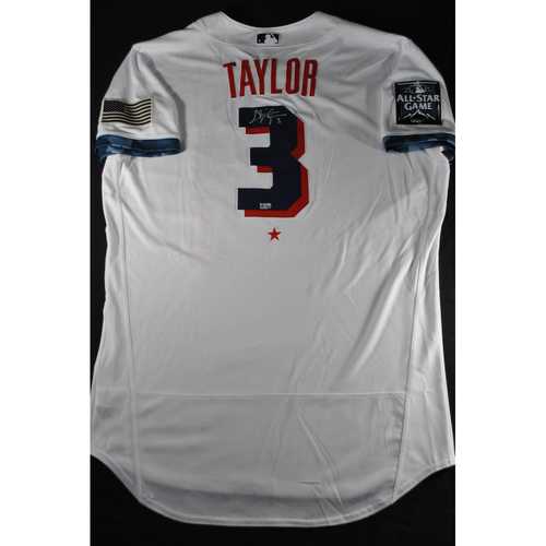 Photo of Chris Taylor 2021 Major League Baseball All-Star Game Autographed Jersey