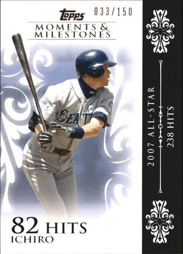 Photo of 2008 Topps Moments and Milestones #63-82 Ichiro Suzuki