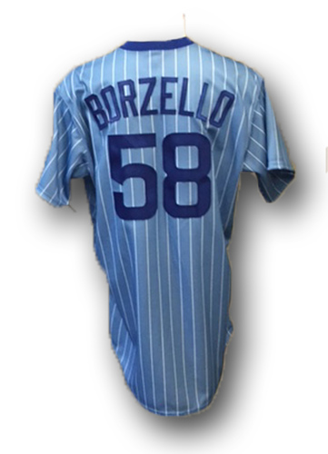 new concept 039bc d4b76 MLB Auctions | Mike Borzello 1981 Throwback Uniform -- Cubs ...