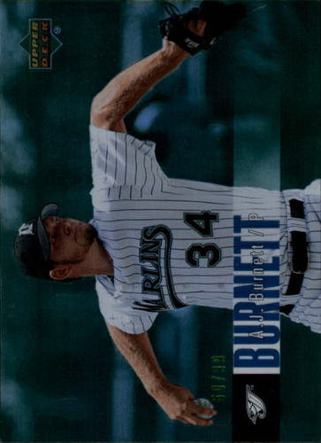 Photo of 2006 Upper Deck Special F/X Green #185 A.J. Burnett /99