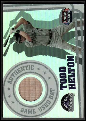 Photo of 2005 Topps Pack Wars Relics #THB Todd Helton Bat B