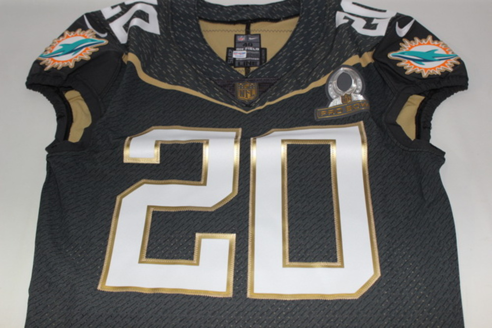 NFL Auction | NFL - DOLPHINS RESHAD JONES 2016 TEAM IRVIN GAME ...