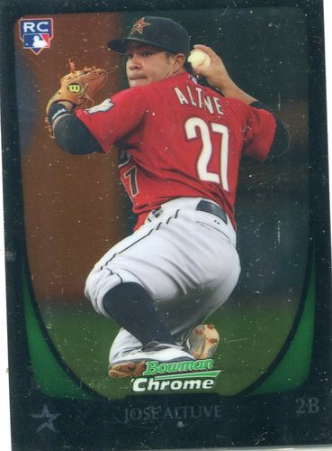 Photo of 2011 Bowman Chrome Draft #11 Jose Altuve Rookie Card