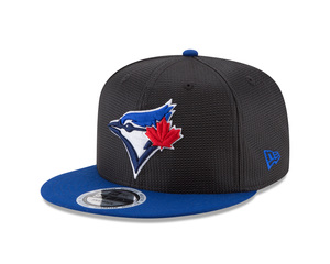 Toronto Blue Jays Perflect Snapback Cap Black/Royal by New Era