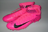 BCA - REDSKINS RICKY JEAN FRANCOIS GAME ISSUED AND SIGNED CLEATS (OCTOBER 2016)